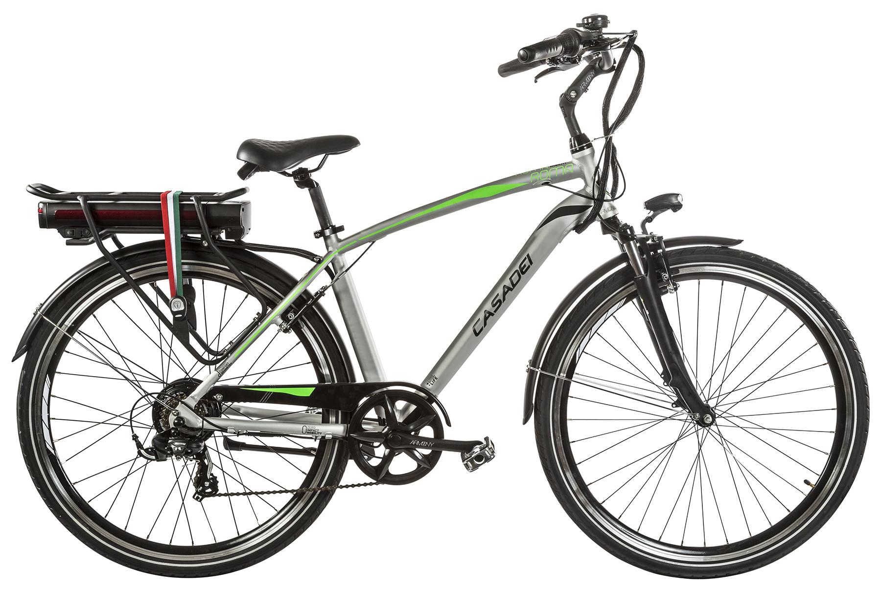 Graziano bici uomo eletrica pedalata assistita