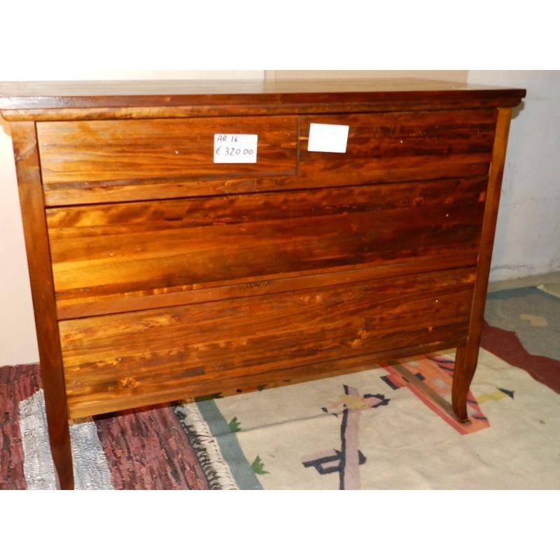 Como in legno massello